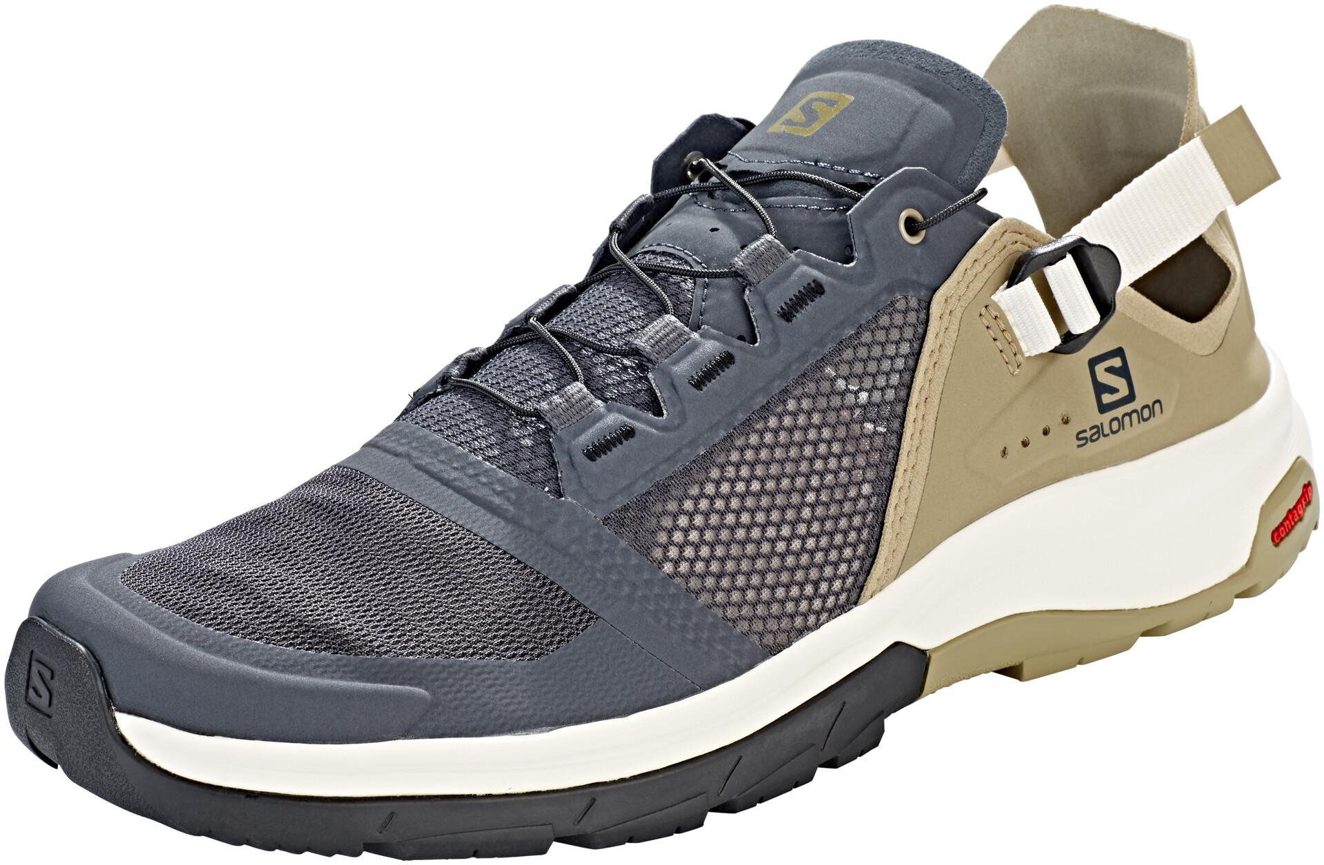 Salomon Techamphibian 4 Shoes Herren ebonymermaidvanilla ice